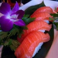 Photo taken at Saga Steakhouse & Sushi Bar by Ben C. on 10/27/2011