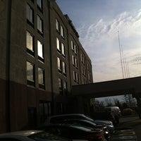 Photo taken at Hampton Inn by Derek on 12/31/2011