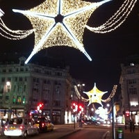 Photo taken at Oxford Circus by Reece T on 11/15/2011