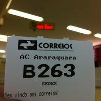 Photo taken at Correios by Daniel D. on 8/17/2012
