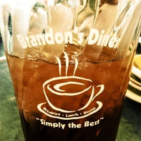 Photo taken at Brandon's Diner by Pam M. on 3/3/2012