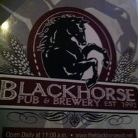 Photo taken at Blackhorse Pub & Brewery by Molly K. on 3/26/2012