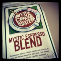 Photo taken at Mystic Coffee Roaster by Andrew H. on 11/27/2011