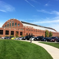 Photo taken at Hinkle Fieldhouse by Butler U. on 10/12/2011