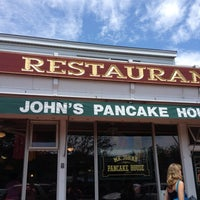 Photo taken at Mr. John's Pancake House by Maren H. on 7/4/2012