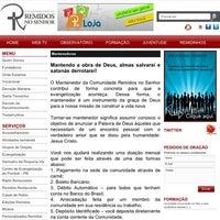 Photo taken at Comunidade Remidos No Senhor by Airton F. on 8/22/2012