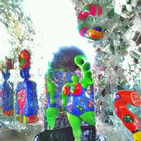 Photo taken at Grotte der Niki de Saint Phalle by Alexander H. on 6/26/2011