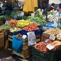 Photo taken at Mercado dos Lavradores by Andrea S. on 4/27/2012