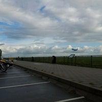 Photo taken at Spottersplaats Polderbaan by Walter v. on 10/8/2011