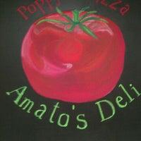 Photo taken at Poppy's Pizza & Amato's Deli by Jennifer N. on 10/13/2011
