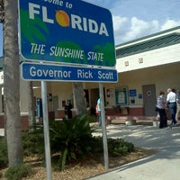 Photo taken at Florida Welcome Center (I-95) by Joey L. on 5/12/2012