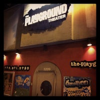 Photo taken at The Playground Theater by Brian L. on 8/15/2012