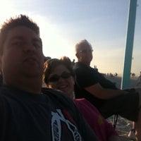 Photo taken at New Smyrna Lifeguard Station by Scott G. on 6/17/2012