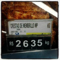 Photo taken at Supermercado Angeloni by Mário G. on 8/10/2012