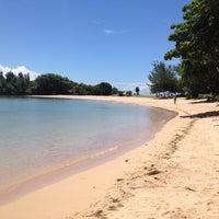 Photo taken at Nusa Dua Beach by Rui V. on 3/30/2012
