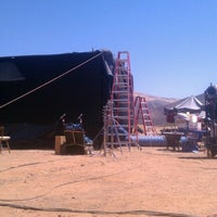 Photo taken at Agua Dulce Movie Ranch / SOS Filmworks by Jesse K. on 7/31/2012