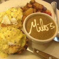 Photo taken at Milo's City Cafe by Jason L. on 8/16/2012
