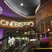 Photo taken at CinéBistro at Peninsula Town Center by Sherah T. on 3/23/2012