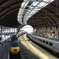 Photo taken at Newcastle Central Railway Station (NCL) by Benjamin E. on 5/29/2012