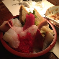 Photo taken at Sagami Japanese Restaurant by Sally S. on 6/14/2012