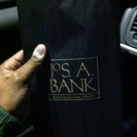 Photo taken at Jos. A. Bank Clothiers Inc. by Darnell W. on 2/21/2012