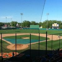 Photo taken at Allie P. Reynolds Baseball Stadium by Jordan S. on 4/24/2012