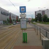 Photo taken at Radnice Slovany (tram) by Aleš on 6/24/2012