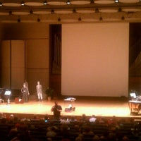 Photo taken at White Concert Hall by Meredith L. on 2/26/2012