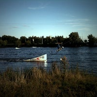 Photo taken at Траектория Wake Park by Anastasy S. on 8/19/2012