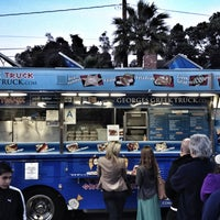 Photo taken at Santa Monica Food Truck Lot by Dustin L. on 4/4/2012
