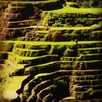 Photo taken at Banaue Rice Terraces Viewpoint by rod s. on 5/28/2012
