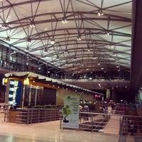 Photo taken at Rajiv Gandhi International Airport (HYD) by Josh H. on 4/2/2012