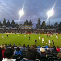 Photo taken at Buck Shaw Stadium by Leana A. on 5/3/2012
