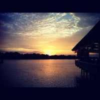 Photo taken at River View Seafood Restaurant by Low F. on 8/31/2012