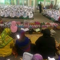 Photo taken at Library of Sekolah Menengah Sufri Bolkiah Tutong by Enah H. on 8/11/2012