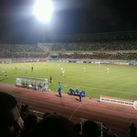 Photo taken at Stadium Darul Aman by Norhalis A. on 3/30/2012