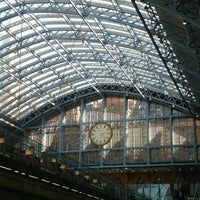 Photo taken at London St Pancras International Eurostar Terminal by Rob G. on 9/5/2012