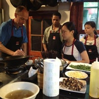 Photo taken at The Hutong 胡同 by Sarah P. on 8/20/2012