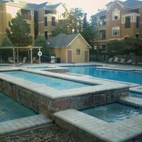 Photo taken at Greenwood Volleyball Pool by Emir S. on 5/31/2012