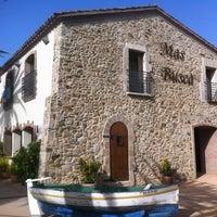 Photo taken at Restaurant Mas Buscà by eantones on 8/18/2012