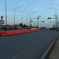 Photo taken at แยกศรีสมาน (Srisaman Intersection) by kit S. on 6/21/2012