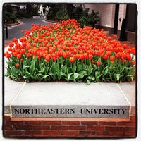 Photo taken at Northeastern University by Chris D. on 4/15/2012