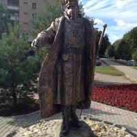 Photo taken at Памятник Селятино by Vit-St on 9/11/2012