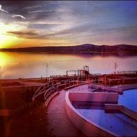 Photo taken at Velence Resort & Spa**** by Rabasz ✪. on 4/4/2012