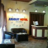 Photo taken at Absolut hotel by Andrey L. on 5/27/2012