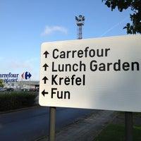 Photo taken at Parking Carrefour by Joel C. on 8/22/2012