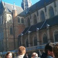 Photo taken at Grand Café Brinkmann by Ruben D. on 3/15/2012