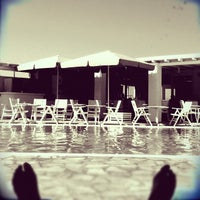 Photo taken at Minois Village Hotel Suites & Spa by Evy M. on 8/27/2012