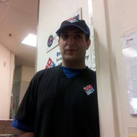 Photo taken at Domino's Pizza by Georgina A. on 8/31/2012