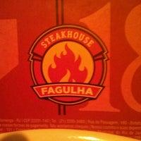 Photo taken at Fagulha Steakhouse by Rodrigo V. on 3/20/2012